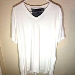 Banana Republic Mens XL White Dress Vee